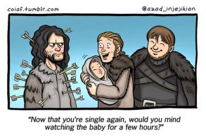 And now his watch begins... ASoIaF by Azad-Injejikian