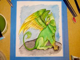 Gryphon-Colored by melj306