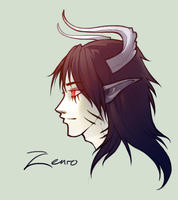 Gift Art: Zenro by Art-Zealot