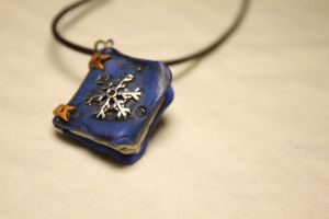Old book inspired in Jack Frost Pendant by Nabila1790