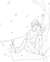 Aph:Petals - Lineart by Duchesse2