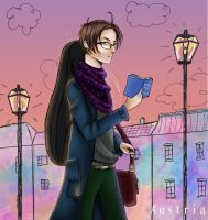 APH- Hipster Austria by NeoSailorCrystal