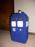 TARDIS Pillow by insomniatic16