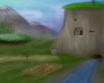 Hill Home (Painting style) by ChronaldMcDonald