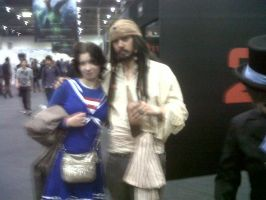 Me and Captain Jack cosplayer by Londonexpofan