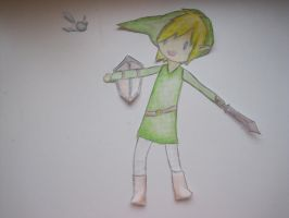 Legend of Paper link o3o by FrozeN9