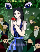 Fairy Tales: SNOW WHITE by pipe07