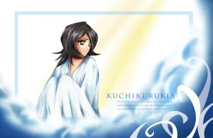 Kuchiki Rukia by alicia-lee