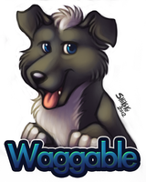 Waggable Badge by bawky