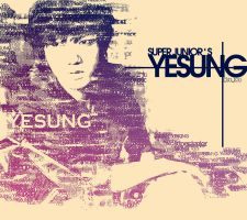 Yesung - typography by 7even-is-jet