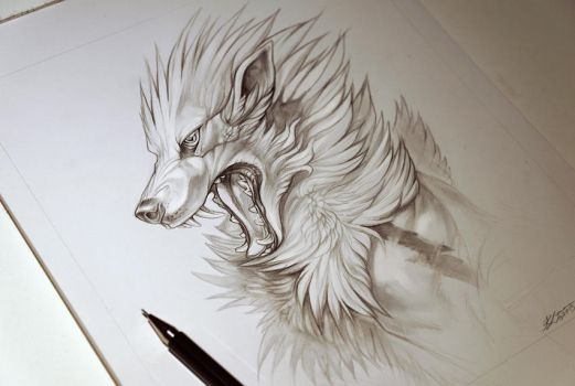 Arcanine Commission by Exileden