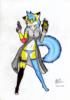 The Special Force Lady [Random Character] by blackwolf743