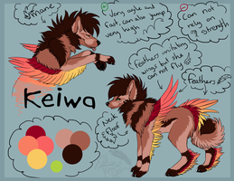 Keiwa - Ref Sheet by DrizzleSnow