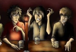 The Marauders by jolly2 by Remus-Lupin-Fanclub
