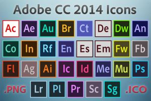 Adobe CC 2014 Icons by rrpjdisc