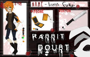 Rabbit Doubt :: Application - Izuna Fukui by InkyWings-X