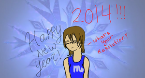 Happy New Year 2014 from Admin by AskStrawberryPrncss