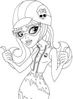 Ghoulia Thumps Up by elfkena