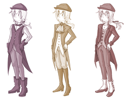 Cog-Timeskip Costume Concepts by SonicRocksMySocks