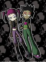 Devi and Tenna Cover like by hellfanmania