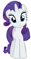 Rarity is watching by Tardifice