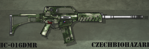 Fictional Firearm: HC-016 DMR by CzechBiohazard