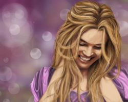 Rapunzel Portrait by Lily-the-Animator