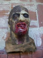 Fulci zombie with blood by Justin-Mabry
