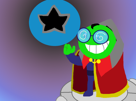Fawful Gets the Dark Star - Lineless Style by Rotommowtom