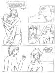Ana and Alex - mini comic by SerafimaTheDarkAngel