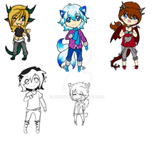 Mixed Adopts (open) by Ruruca