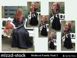 Medieval Family Pack 2 by mizzd-stock