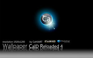 Wallpaper CaID Reloaded 4 by CaHilART