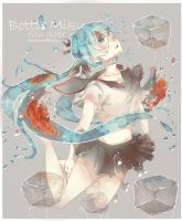 bottle miku by mano-k