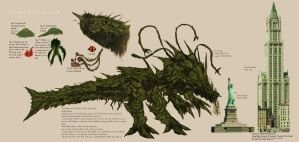 Cloverfield Monster v2 by Ra88