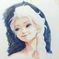 color pencil by A-KAchen