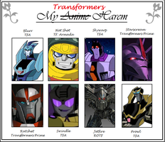 My Anime Harem: Transformers by yodana