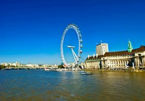 London Eye by AlanSmithers