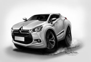 Citroen DS4 by creaturedesign