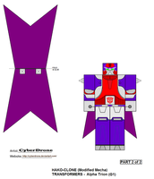 Hako Clone- Alpha Trion '2of2' by CyberDrone
