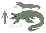 Concept - Swamp Dragon by The-Greys