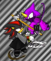 SHADOW versus ESPIO by theEyZmaster