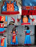 Aztec Princess Stage Costume- Final by Kennadee