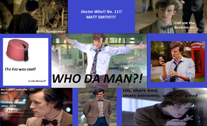 Doctor Who, collage thing by Doctor-Wha