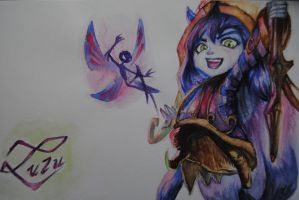 Lulu watercolor by TheEmpa