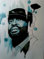 Black Thought by RYSillustrates