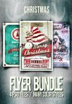 Christmas Flyer/Poster Bundle VOL.Pint Prew Bundle by another-graphic