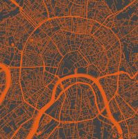 Moscow by MapMapMaps