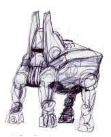 Mech by proverbialcheese