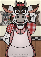 Carrie, the Cow by LordDominic